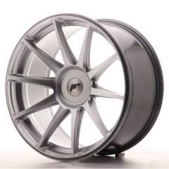 Japan Racing JR11 19x9,5 ET22-35 Blank Hyper Silve