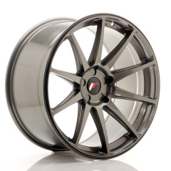 Japan Racing JR11 20x10 ET20-40 5H Blank Hyper Gray<br/>