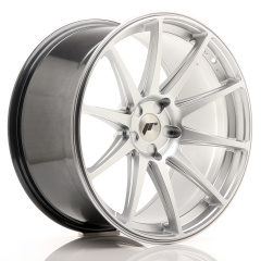 JR Wheels JR11 20x10 ET20-40 5H BLANK Hyper Silver