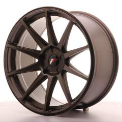 Japan Racing JR11 20x10 ET20-40 5H Blank Matt Bro