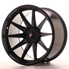 Japan Racing JR11 20x11 ET20-30 5H Blank Glossy Bl