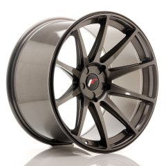 Japan Racing JR11 20x11 ET20-30 5H Blank Hyper Gray<br/>