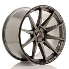 Japan Racing JR11 20x11 ET30-52 5H Blank Hyper Gray<br/>