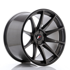 Japan Racing JR11 20x12 ET20-42 5H Blank Hyper Gray<br/>