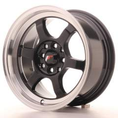 Japan Racing JR12 15x7,5 ET26 4x100/108 Glos Black