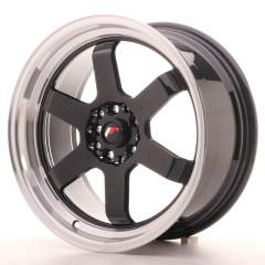 Japan Racing JR12 17x8 ET33 4x100/114 Gloss Black