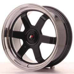 Japan Racing JR12 17x8 ET20-35 Blank Gloss Black