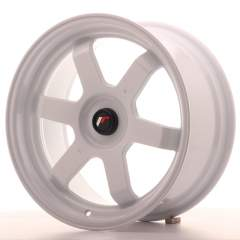 Japan Racing JR12 17x8 ET35 Blank White