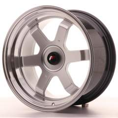 Japan Racing JR12 17x9 ET25 Blank Hyper Silver