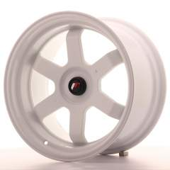 Japan Racing JR12 17x9 ET25 Blank White