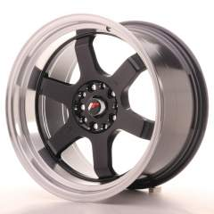 Japan Racing JR12 18x10 ET0 5x114/120 Gloss Black