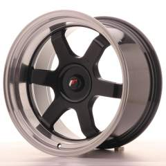 Japan Racing JR12 18x10 ET20-22 Blank Gloss Black