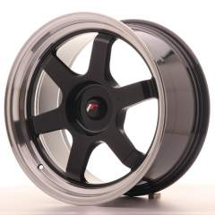 Japan Racing JR12 18x9 ET25-27 Blank Gloss Black