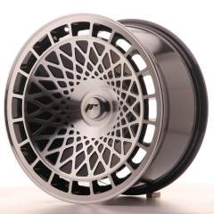 Japan Racing JR14 17x8,5 ET15 Blank Black Machined