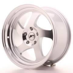 Japan Racing JR15 17x9 ET25 Blank Silver Machined