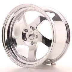 Japan Racing JR15 17x9 ET25 Blank Vacum Chrome