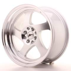 Japan Racing JR15 17x9 ET25 4x100/108 Machined S