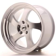 Japan Racing JR15 19x10 ET35 5x112 Silver Machined