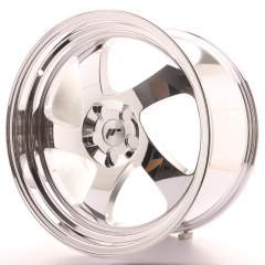 Japan Racing JR15 19x10 ET35 Blank Vacum Chrome