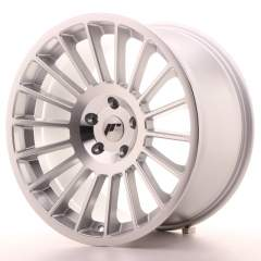 Japan Racing JR16 19x10 ET35 5H Blank Silver Machi