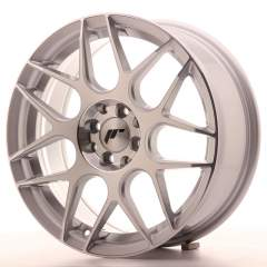 Japan Racing JR18 17x7 ET40 4x100/114 Silver Mach