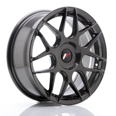 JR Wheels JR18 17x7 ET20-40 BLANK Hyper Gray
