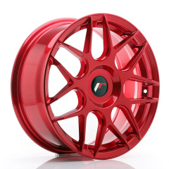 JR Wheels JR18 17x7 ET40 BLANK Platinum Red