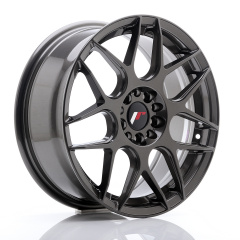 JR Wheels JR18 17x7 ET40 4x100/108 Hyper Gray
