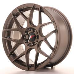 Japan Racing JR18 17x8 ET35 4x100/114 Matt Bronze
