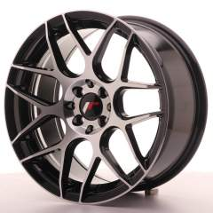 Japan Racing JR18 17x8 ET35 5x100/114 GlossBlkMach