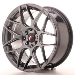 Japan Racing JR18 17x8 ET35 5x108/112 Hyper Black