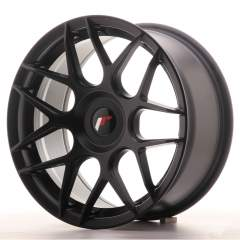 Japan Racing JR18 17x8 ET25-35 Blank Matt Black