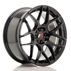JR Wheels JR18 17x8 ET25 4x100/108 Glossy Black