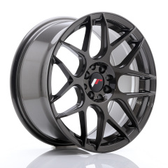JR Wheels JR18 17x8 ET25 4x100/108 Hyper Gray