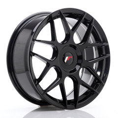 JR Wheels JR18 18x7,5 ET25-40 BLANK Glossy Black