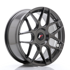 JR Wheels JR18 18x7,5 ET35-40 BLANK Hyper Gray
