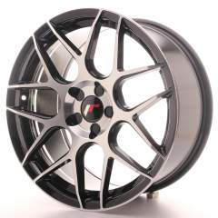 Japan Racing JR18 18x8,5 ET35-45 5H Blank Black Ma