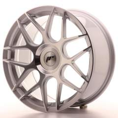 Japan Racing JR18 18x8,5 ET25-45 Blank Silver Mach