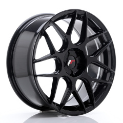 JR Wheels JR18 19x8,5 ET25-42 5H BLANK Glossy Black