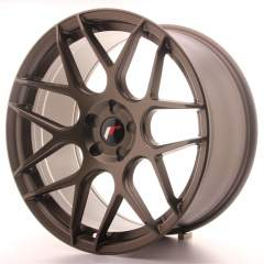 Japan Racing JR18 20x10 ET20-45 5H Blank Matt Bro