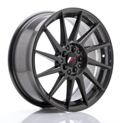 JR Wheels JR22 17x7 ET35 4x100/114 Hyper Gray
