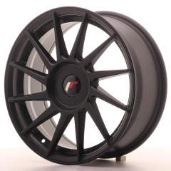 Japan Racing JR22 17x7 ET35-40 Blank Matt Black
