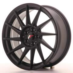 Japan Racing JR22 17x7 ET25 4x100/108 Matt Black