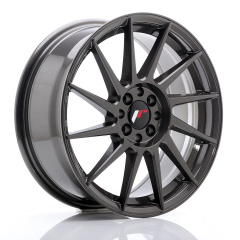 JR Wheels JR22 17x7 ET25 4x100/108 Hyper Gray