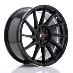 JR Wheels JR22 17x8 ET35 5x100/114 Glossy Black