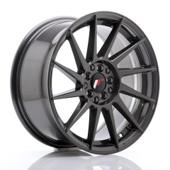 JR Wheels JR22 17x8 ET35 5x100/114 Hyper Gray