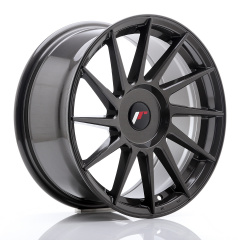 JR Wheels JR22 17x8 ET25-35 BLANK Hyper Gray