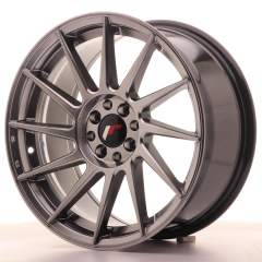 Japan Racing JR22 17x8 ET25 4x100/108 Hyper Black