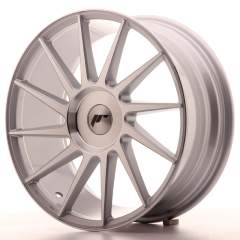 Japan Racing JR22 18x7,5 ET35-42 Blank Silver M