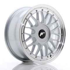 JR Wheels JR23 16x7 ET20-45 BLANK Hyper Silver w/Machined Lip